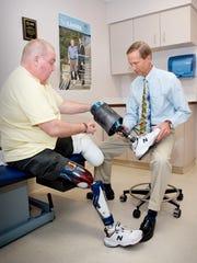 Dr. Heikki Uustal, medical director of the Prosthetic