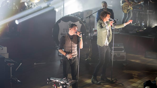 For King & Country played to a sold out Ryman Auditorium Friday night.