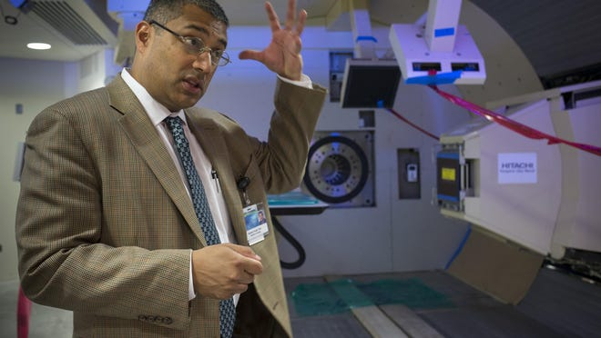 Dr. Sameer Keole will lead Mayo Clinic's $180 million-plus proton-therapy center when it opens in March in northeast Phoenix.