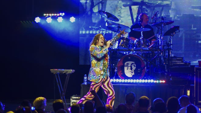 Weird Al Yankovic performs at The Louisville Palace Theater. Wednesday June 24, 2015 (Photo: William DeShazer, Special to The C-J)