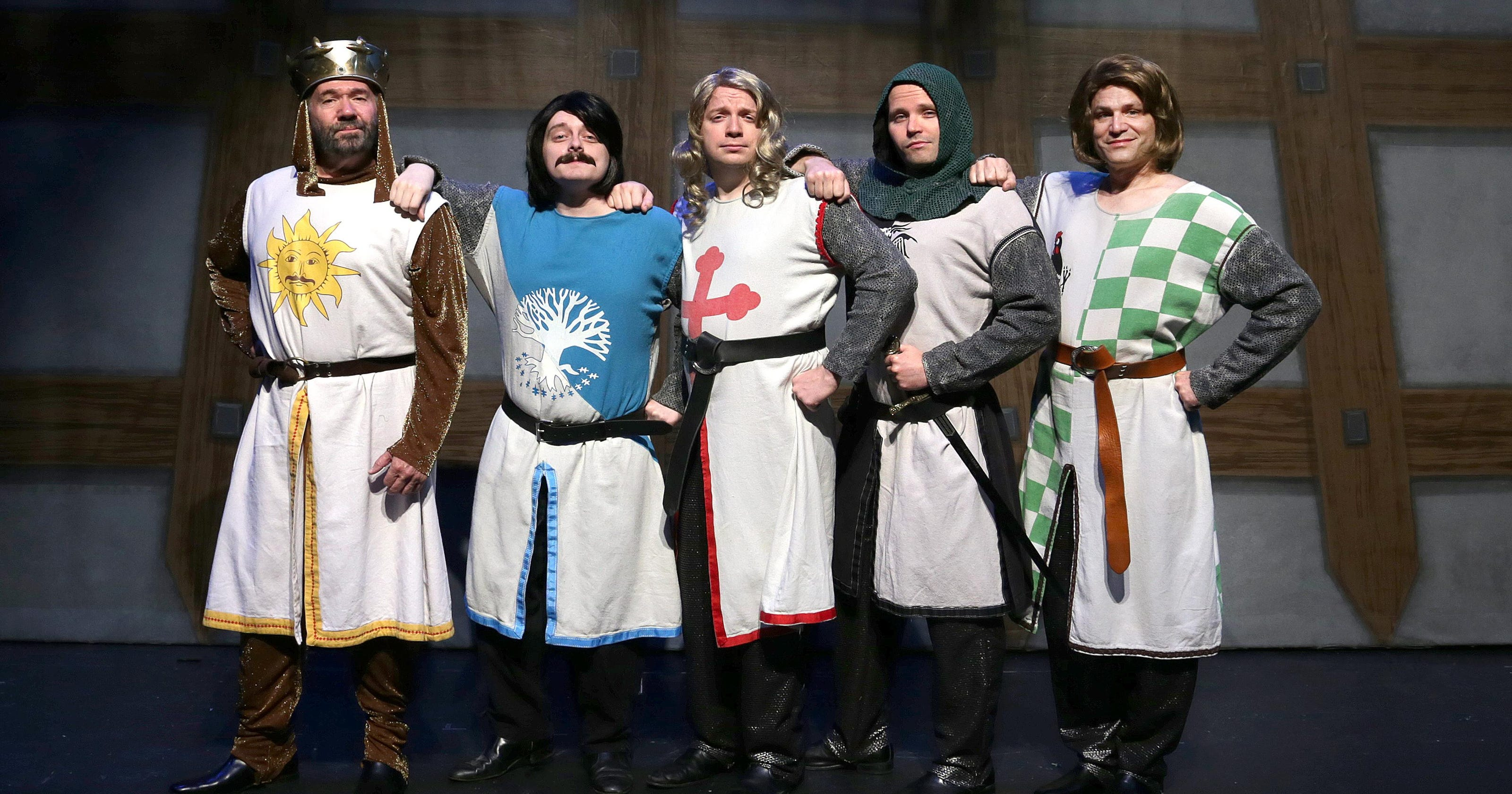 Spamalot': 9 questions for the Round Table