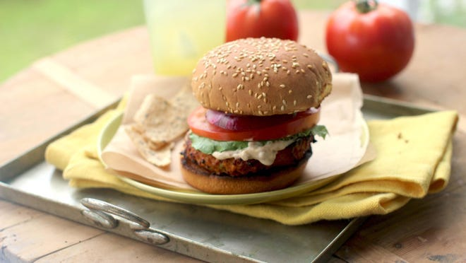 If you don't wish to grill them, turkey burgers can be cooked in a lightly oiled skillet or under the broiler for roughly the same amount of time.