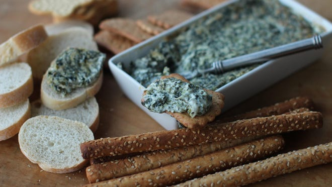 Why have cold dip when you can make Hot and Creamy Pesto Spinach Dip?