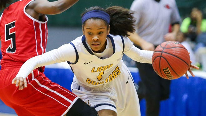 Myah Taylor aims to help Olive Branch reach the state title game.