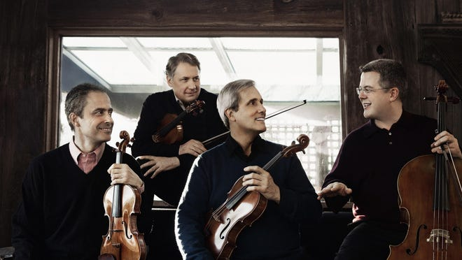 The Emerson String Quartet performs June 4 at Bard College, Annandale.
