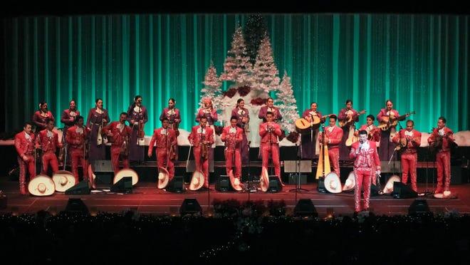 """Mariachi Sol de Mexico""""A Merri-Achi Christmas,"""" presented by Mariachi Sol de Mexico comes Friday, Dec. 11, to the Visalia Fox."""