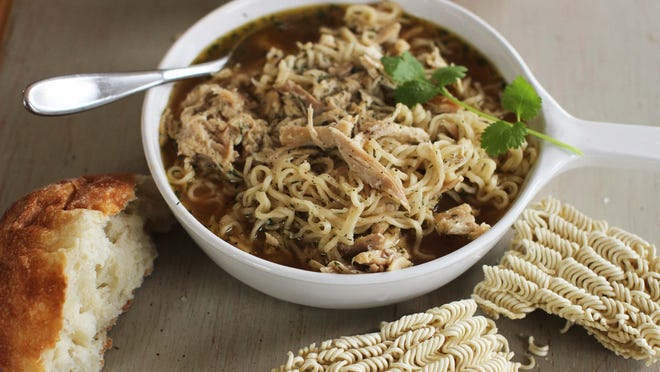 Chicken ramen noodle is a quick chicken noodle soup for when time could be better spent in bed.