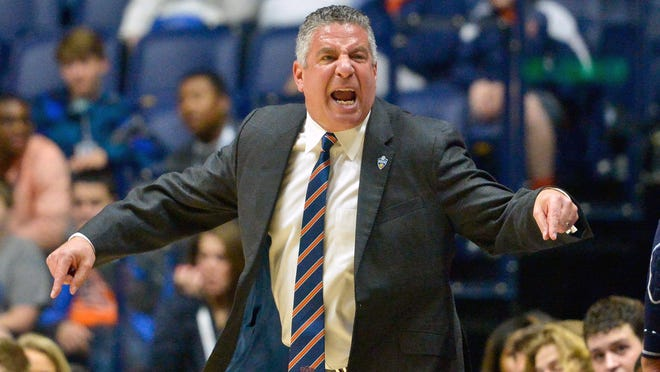 Auburn men's head basketball coach Bruce Pearl told the Montgomery Quarterback Club on Tuesday that his program is on a solid foundation.