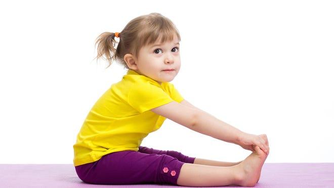 Children enjoy yoga.