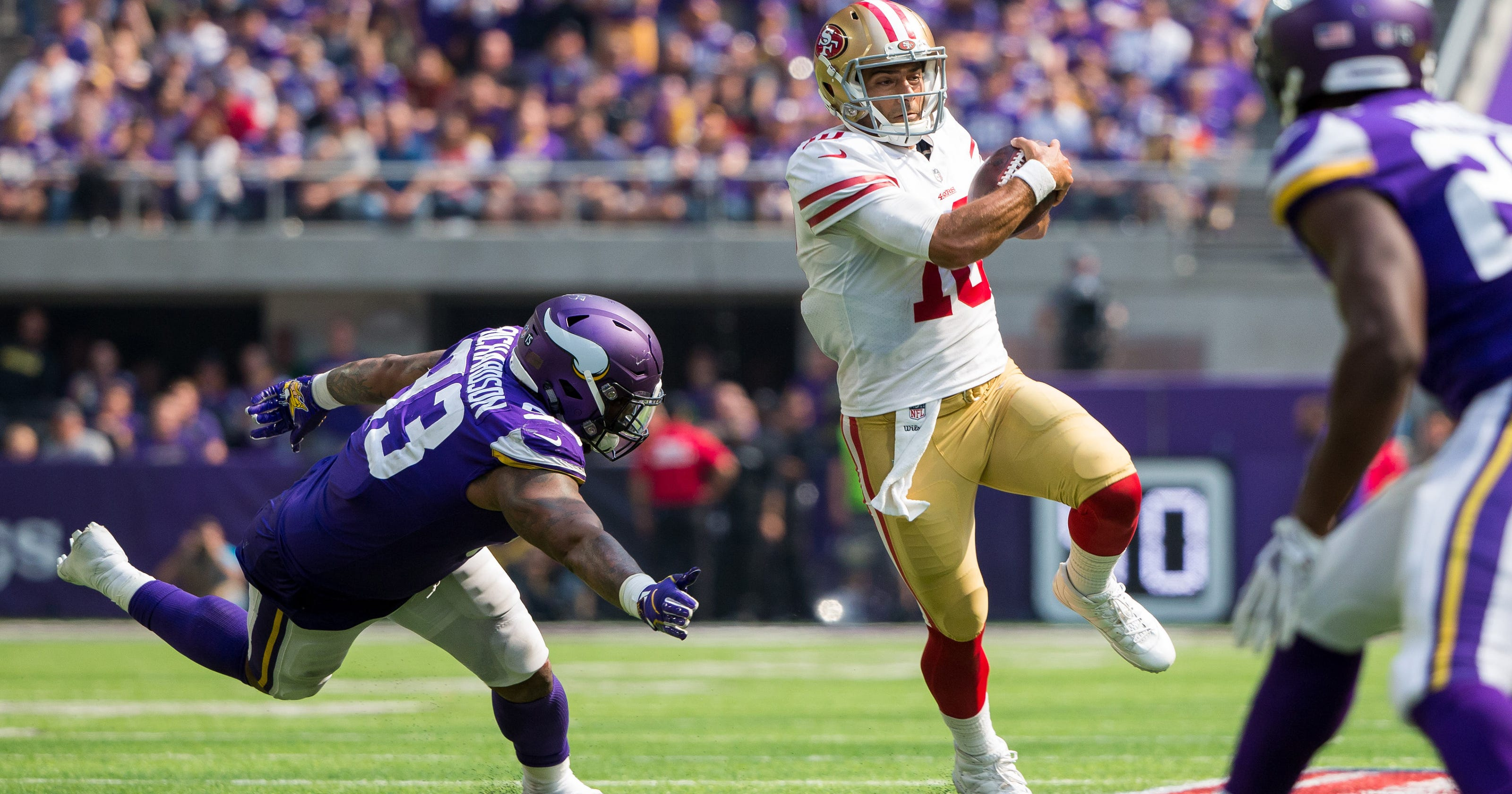 484e64725 Jimmy Garoppolo makes San Francisco 49ers contenders with  winning DNA