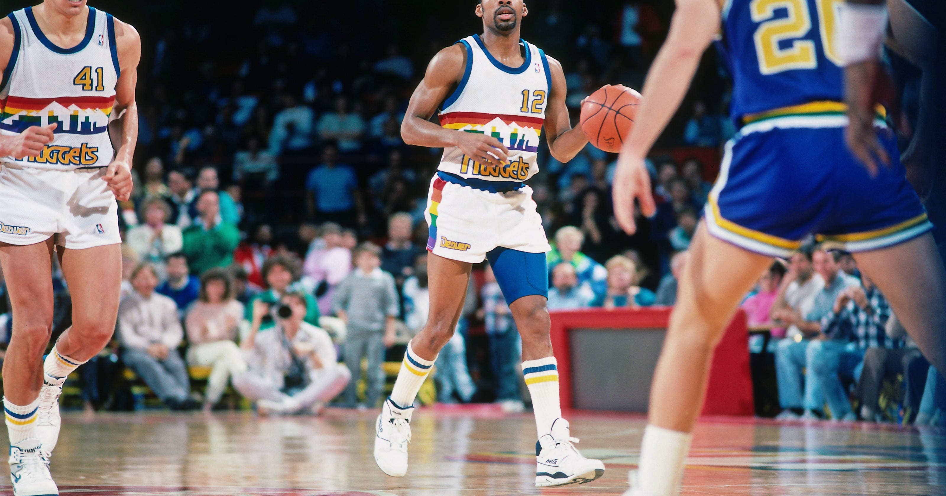 Nuggets bringing back awesome old uniforms 978894a2d