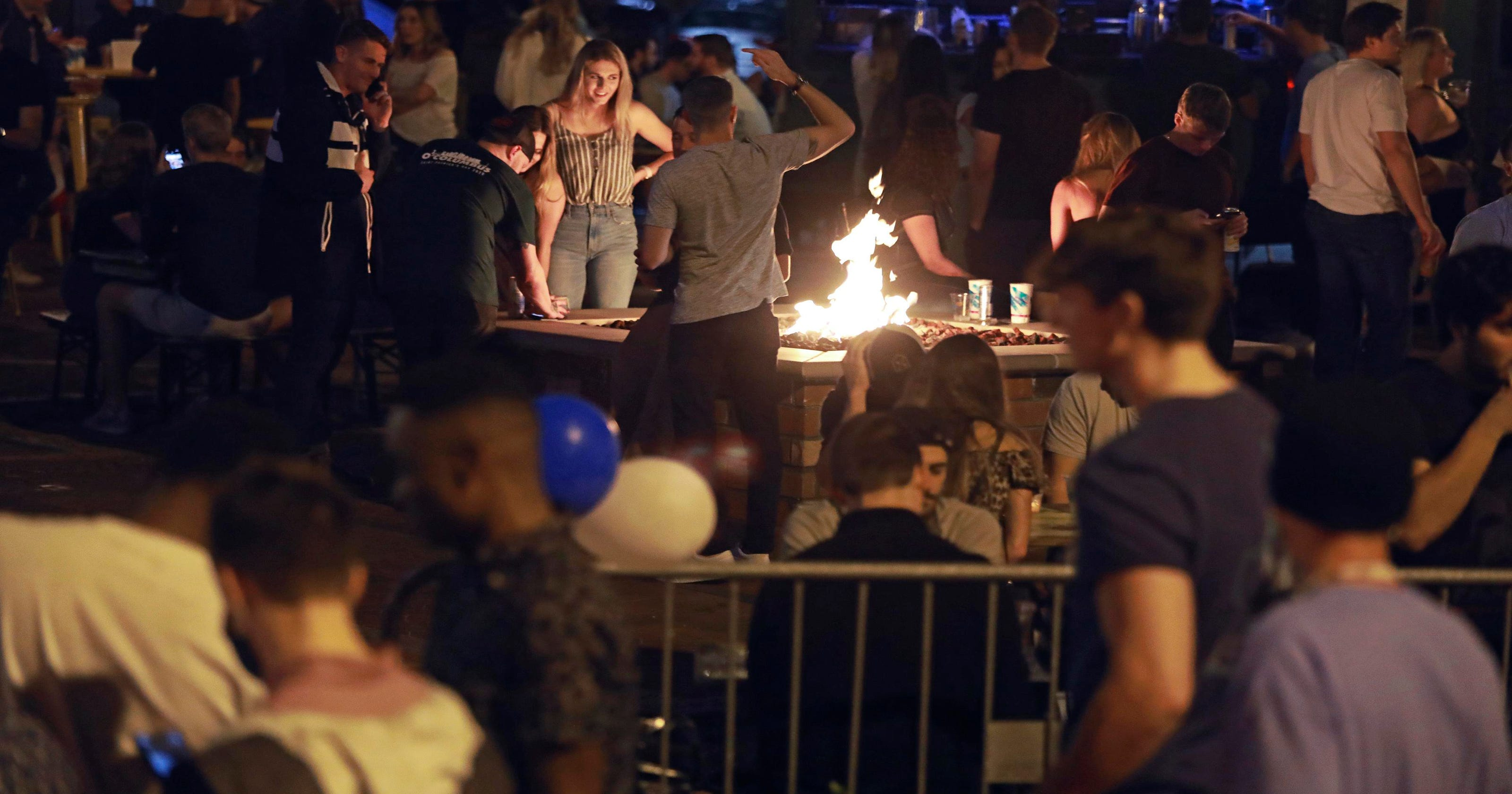 Bar trouble, gym defiance, al fresco dining: News from around our 50 states