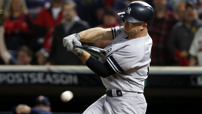 Considered New York's fourth outfielder at the start of the 2019 season, Brett Gardner provided the Yankees with some unexpected power, clubbing a career-high 28 home runs.