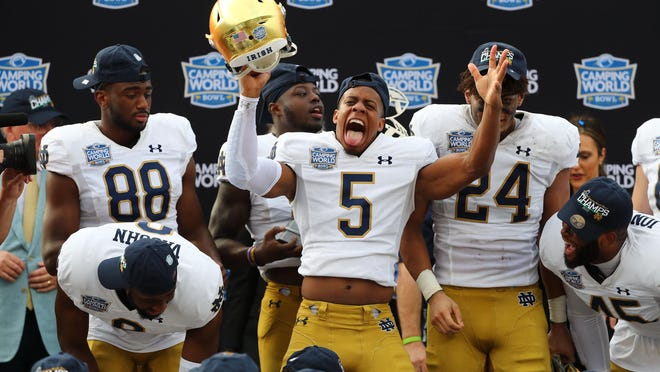Notre Dame gets a boost by playing in the ACC for the 2020 season.