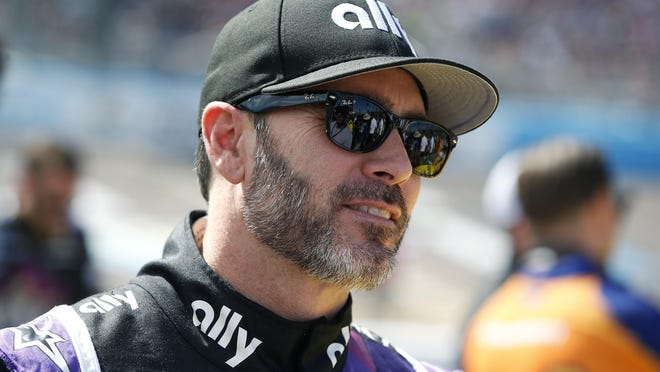 A new scholarship established by The Mattioli Foundation and Pocono Raceway in honor of NASCAR legend Jimmie Johnson, pictured, will support students at Monroe Career and Technical Institute. The scholarship honors Johnson's decades long career with NASCAR and will support students for the next 23 years.