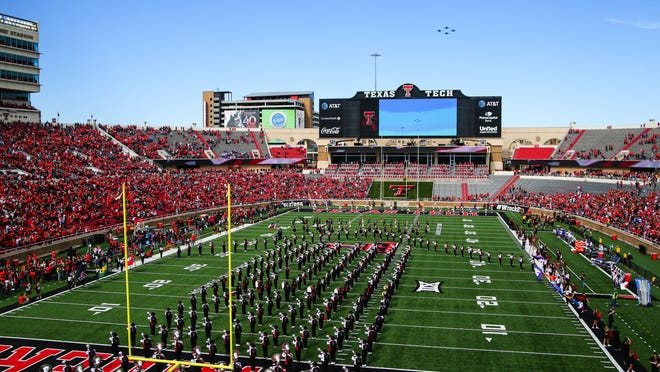 Texas Tech will host Texas in a Sept. 26 conference opener under the Big 12's revised football schedule announced Wednesday.