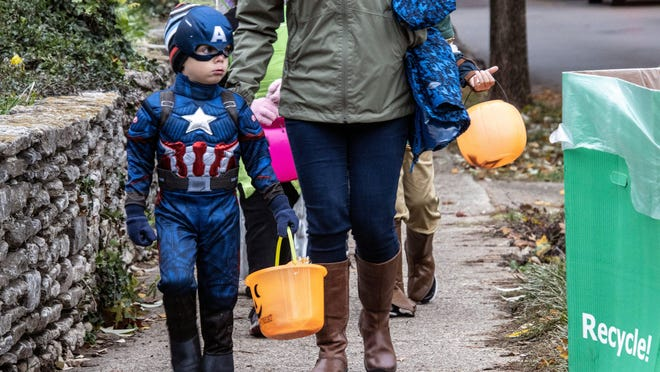 Gov. Andrew Cuomo suggested he might have more guidance on precautions that families might want to take for Halloween, but has no plans to put in a statewide ban.