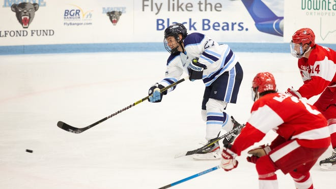 Marshfield's Pat Shea just finished his senior year at the University of Maine.