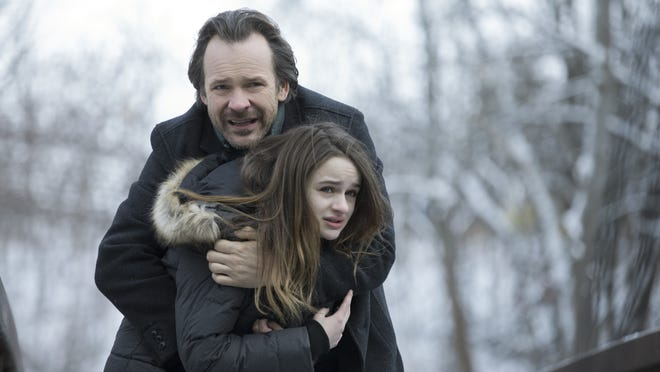"Peter Sarsgaard and Joey King in ""The Lie."""