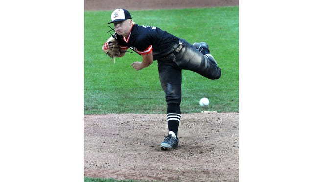Summerfield's Derek Clark pitches in the Division 4 state championship game last year.