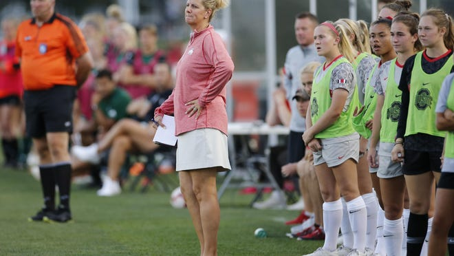 Ohio State women's soccer coach Lori Walker-Hock is skeptical that a spring season is feasible, given Ohio's fickle weather in March and April.