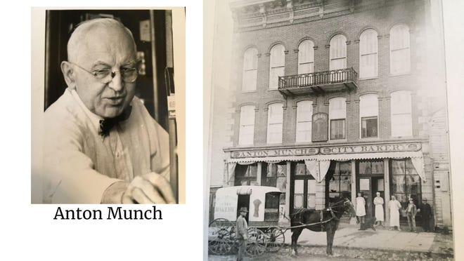 [Photos courtesy of the Everette Payette Collection] Emil Munch, and Anton Munch's City Bakery are shown in these undated photos.