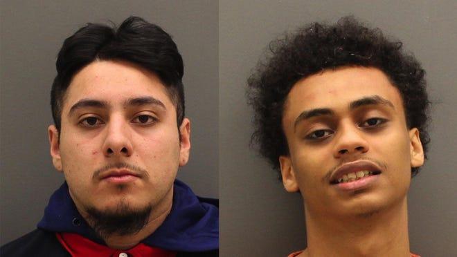 Jonathan Jair Garces-Palma, 20, left, and Nilson Jose Morales, 22, right.