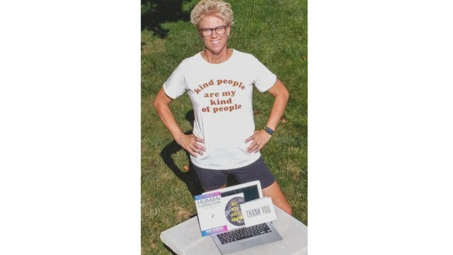 Recently retired educator Kris Hudson is an affiliate with SendOutCards, an online greeting card program that allows customers to design, personalize and send cards using an app on their cellphone or computer. Since joining the company in March, Hudson has created and sent more than 600 cards.