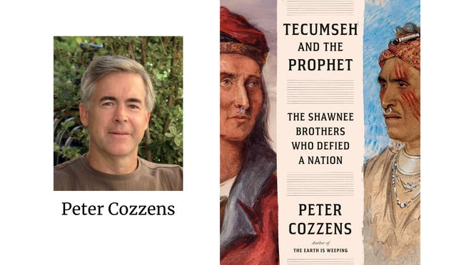 """Peter Cozzens' latest book is """"Tecumseh and the Prophet.""""Cozzens will discuss the book 7 p.m. Thursday for the Monroe County Museum s headlining program for its annual author series."""