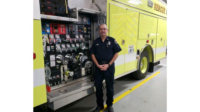 Lt. Joe Hernandez will serve as lead adviser of the new Explorer's Program with the Monroe Township Volunteer Fire Department.