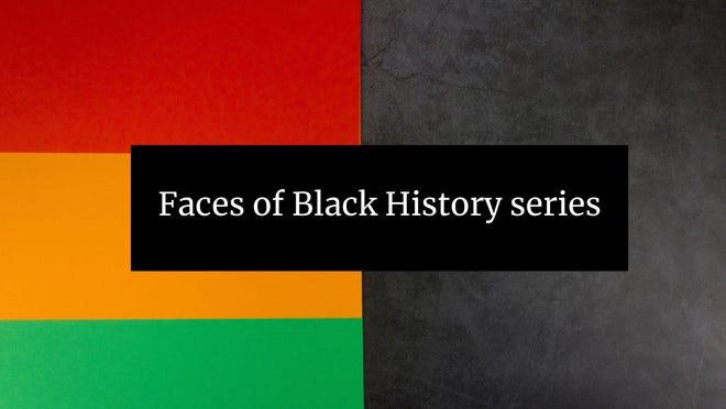 Faces of Black History logo