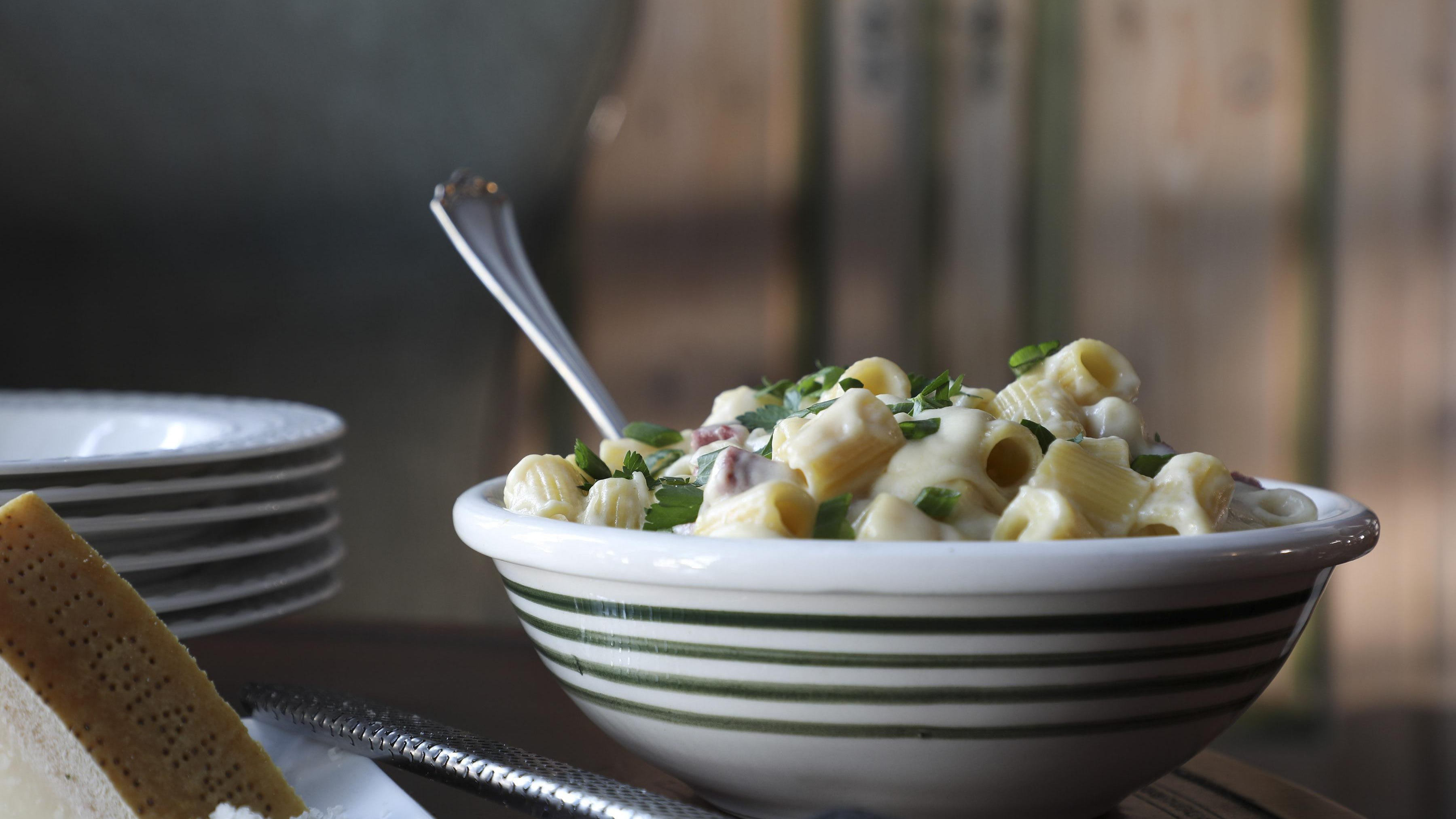 Corned beef plus shells and cheese equals holiday comfort