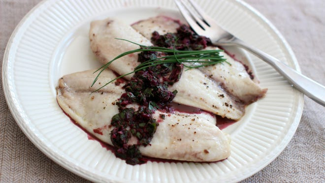 Try spooning horseradish and beet green chimichurri over hot tilapia for a tasty Passover dish.