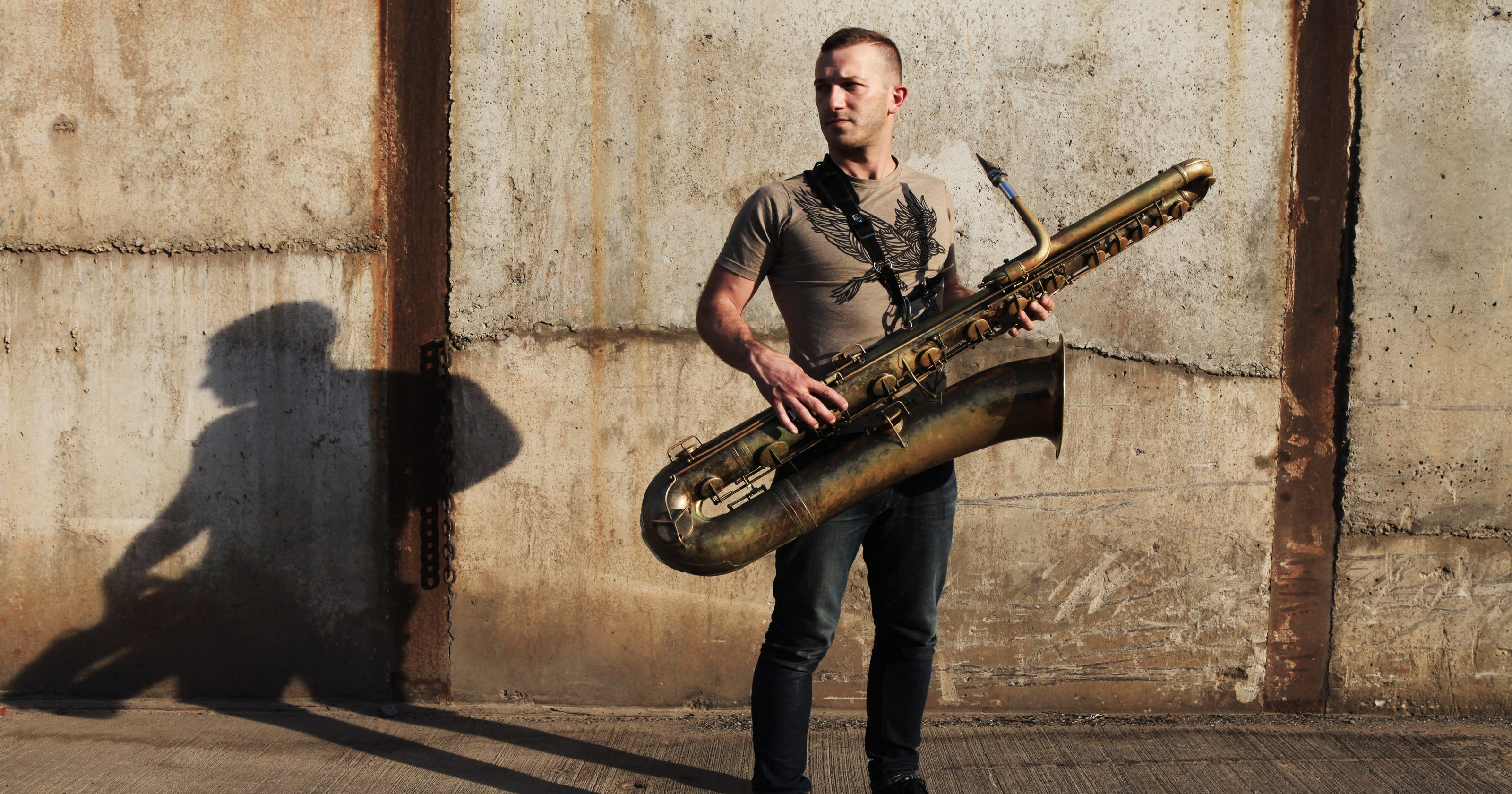 save up to 80% many styles cute Colin Stetson on sax at Dreamland