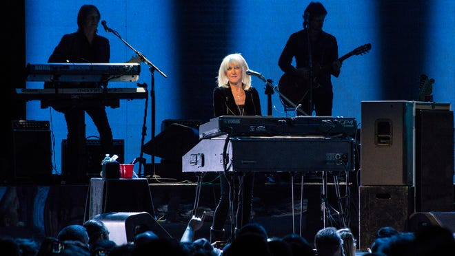 Christine McVie was welcomed back by the fans after not being a part of the last Fleetwood Mac tour that came through Louisville. 2/17/15