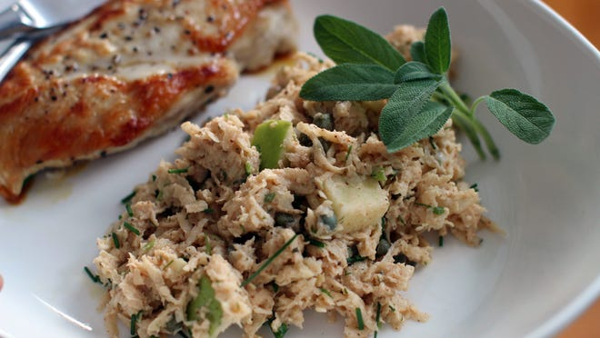 Celery root and chipotle romoulade slaw