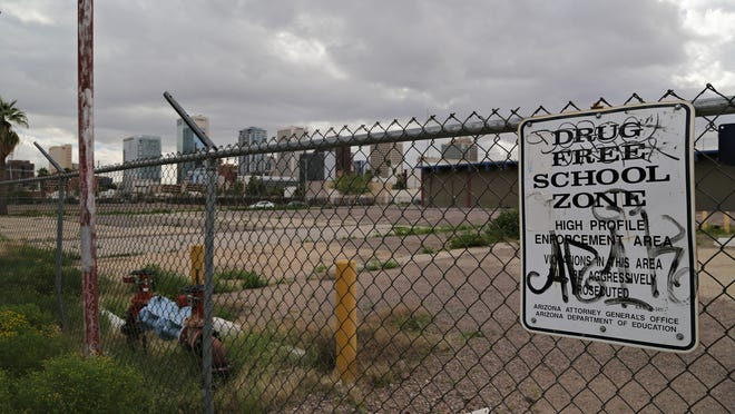 About 11 acres of land sit vacant or unused along Fillmore Street in the western part of downtown. The city of Phoenix owns 7.4 acres of land south of Fillmore Street between Fourth and Sixth avenues that it hopes to make into a pedestrian-friendly area, with a connected, urban feel.