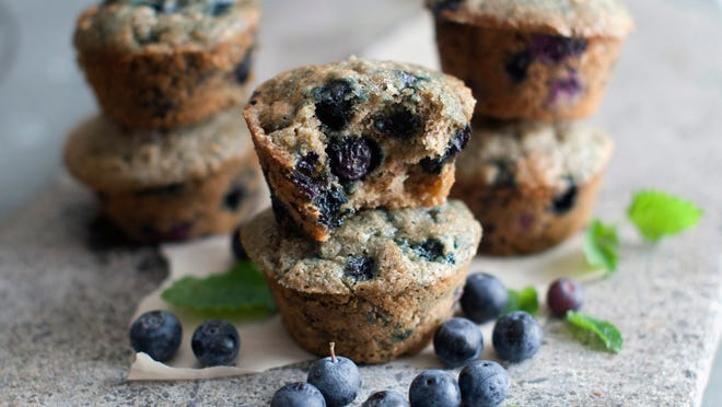 Hearty blueberry banana muffins are a whole-grain, fruit-packed muffins. These muffins can begin a day with a healthy start.