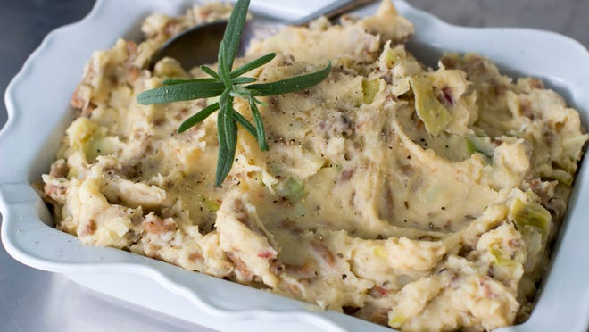 Sausage and Fennel Mashed Potatoes.