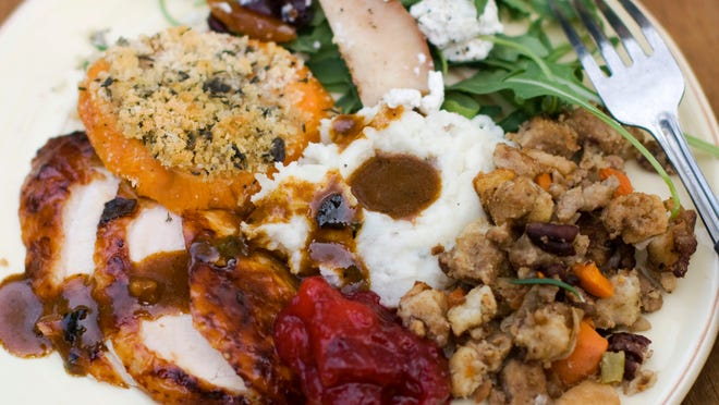 A traditional Thanksgiving dinner for 10 people will cost $49.41 this year.