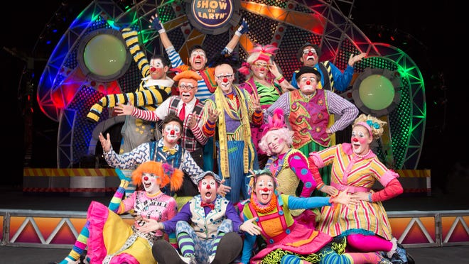 The Ringling Bros. and Barnum & Bailey Circus' Built to Amaze show