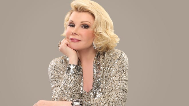 """""""They keep telling me I'm 80 and I think they made a mistake,"""" says former Larchmont resident Joan Rivers. She will be back in Westchester for two shows at the Paramount Hudson Valley."""