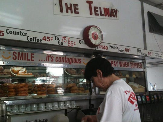 Telway Hamburgers offerings include sliders, hot dogs