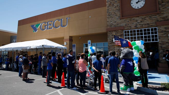 GECU officials this month celebrated the grand opening of its new branch at 6101 Upper Valley and Artcraft.