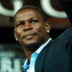 Jermain Taylor during a 2009 news conference in Copenhagen, Denmark.