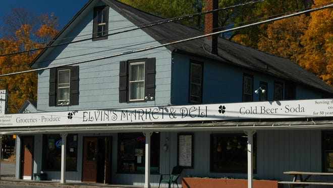 Elvin's Market and Deli occupies a building in the Hamlet of Stanfordville, which throughout its 200 years has served as a barber shop, post office, meat market, pool hall and ice cream parlor. Its second floor was originally a house of worship for Quakers.