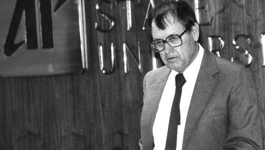 George Fisher in 1987.