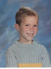 Noah Jack Cummins in preschool, when he was going through