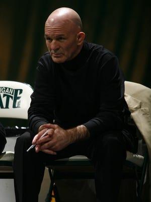 Michigan State wrestling coach Tom Minkel
