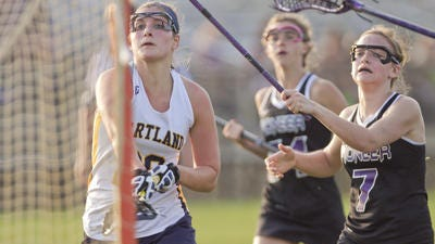 Hartland's Amy Longe and her teammates hope to claim their third consecutive KLAA championship by beating Northville on Monday.
